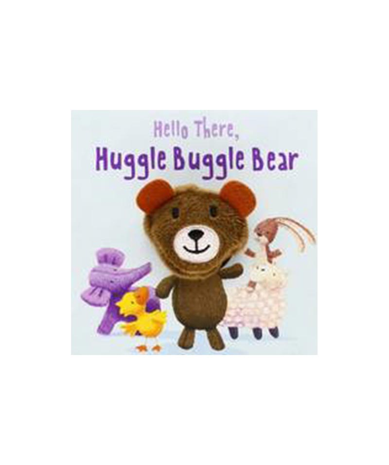 Hello There Huggle Buggle Bear Finger Puppet