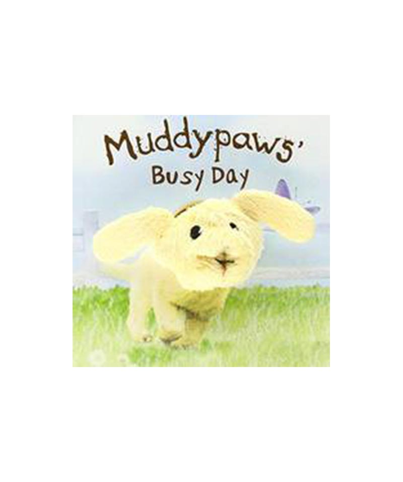 Muddypaws Busy Day Finger Puppet