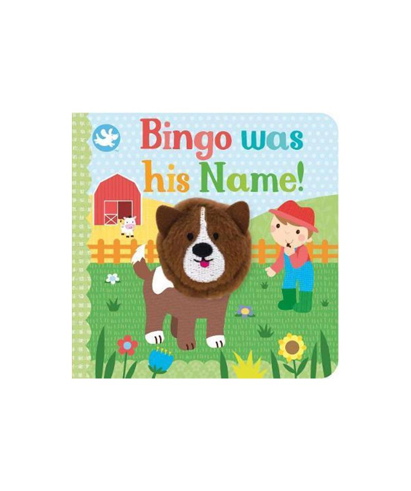 "LM ""Bingo Was His Name"" Finger Puppet"