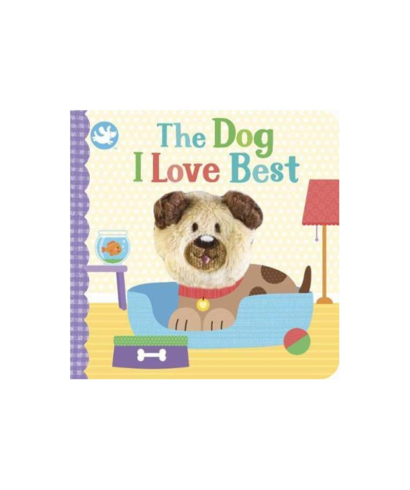 "LM ""The Dog I Love Best"" Finger Puppet"