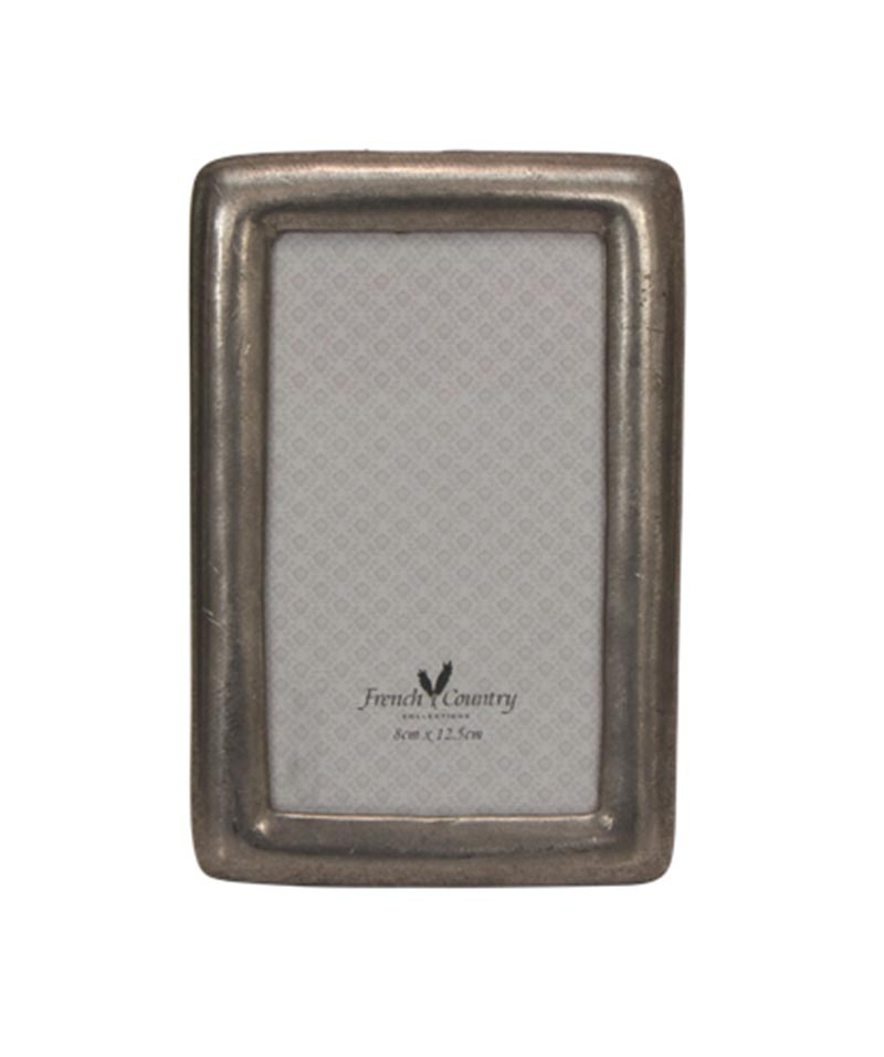 Pewter Frame – Rounded