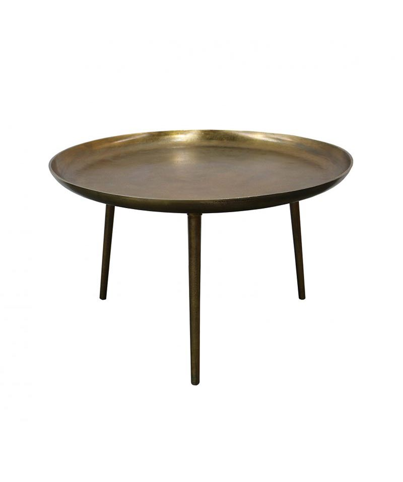 Bronx Coffee Table Brass Antique