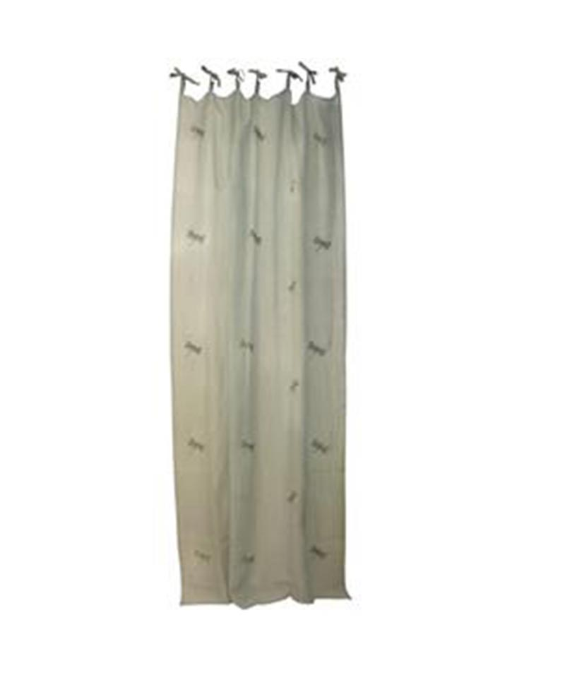 Dragonfly Seafoam Curtain