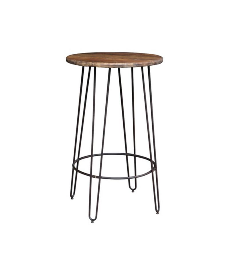 Bar Table from Reclaimed Elm