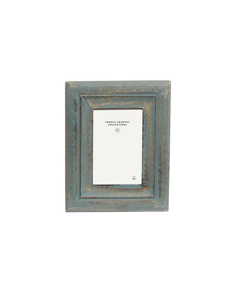 Blue Washed Frame 4×6″