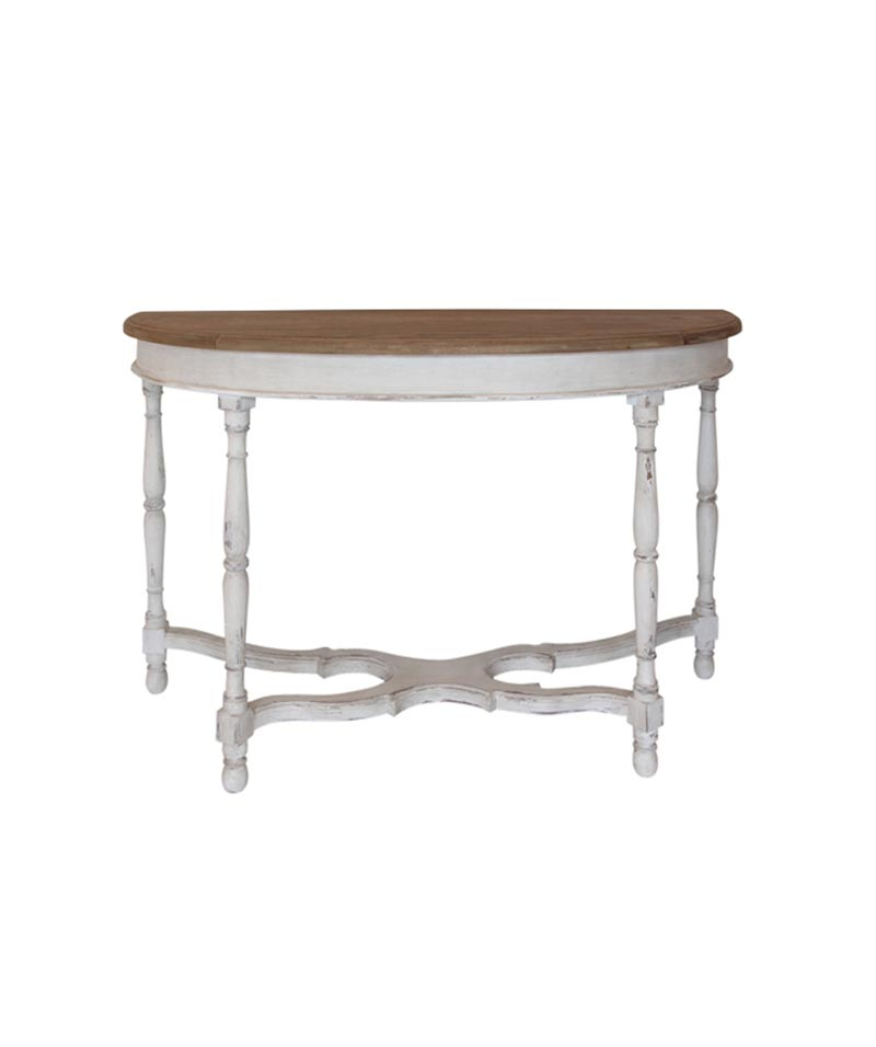 Adel Half Round Console Table