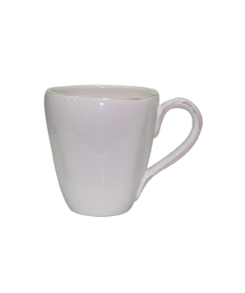 Set 4 White Primitif Mug