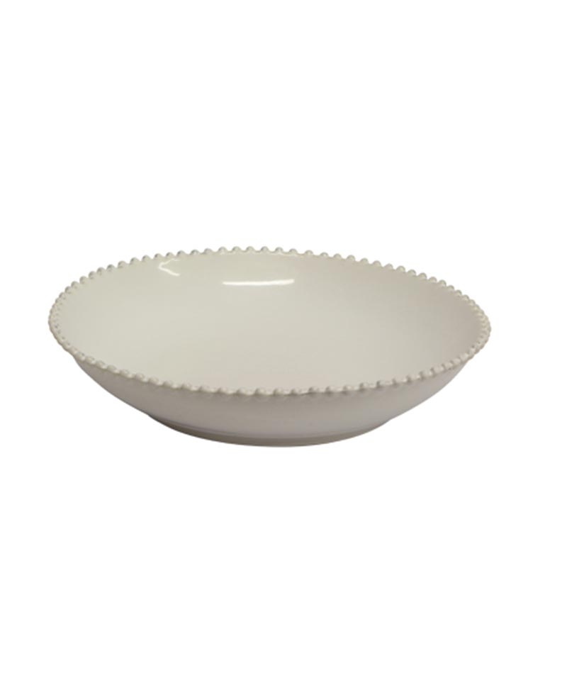 Pearl Large Round Bowl Stoneware