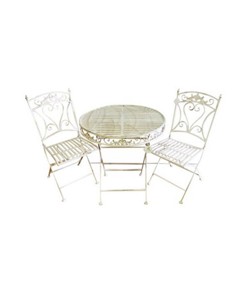 Cafe Table And 2 Chair Set