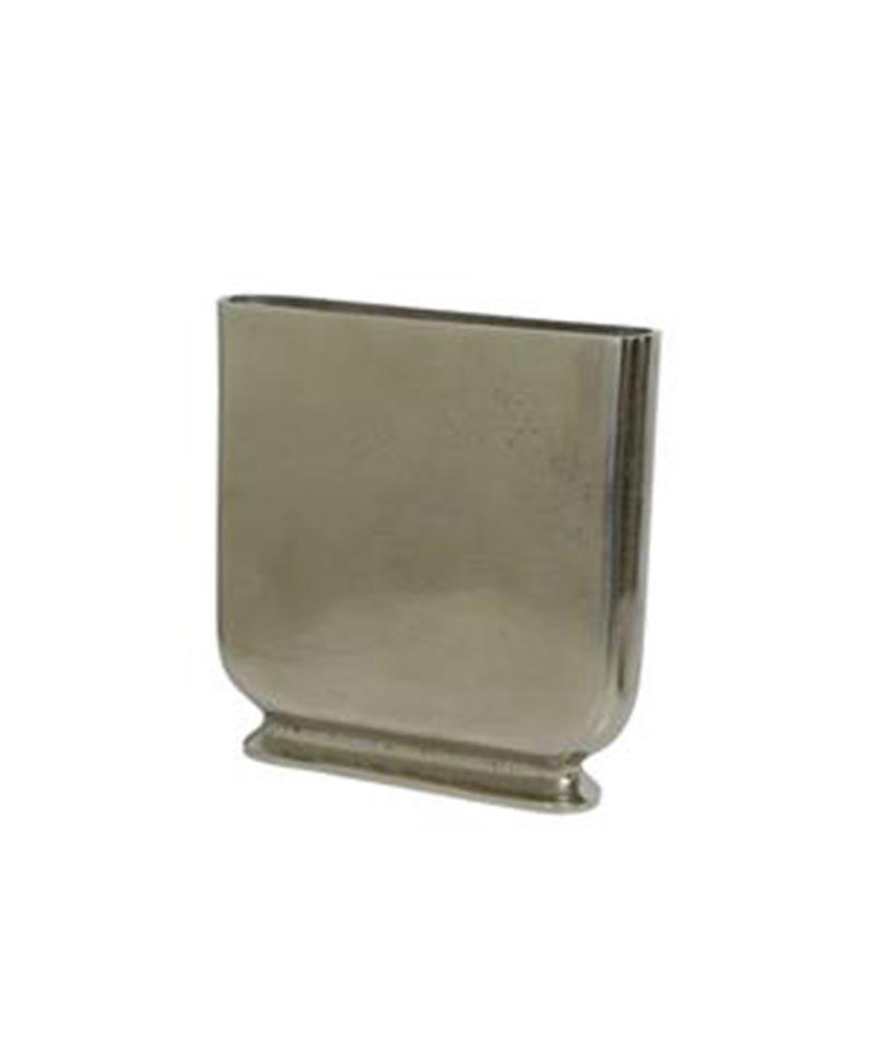 Narrow Silver Vase 31cmH