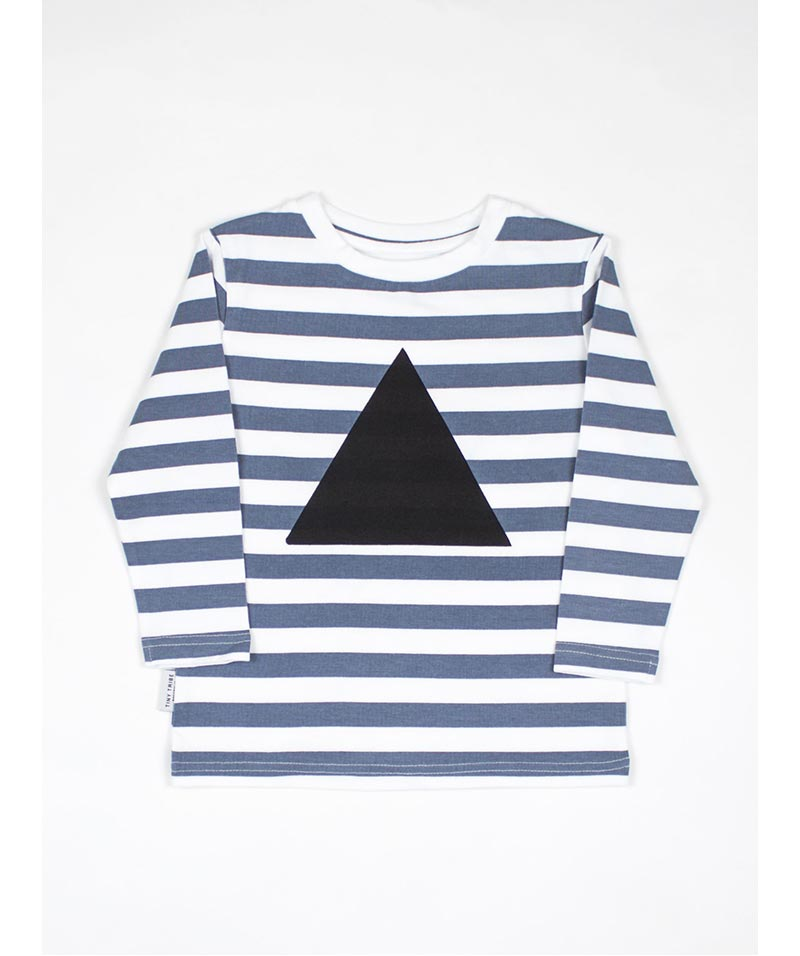 Stripe Triangle Tee