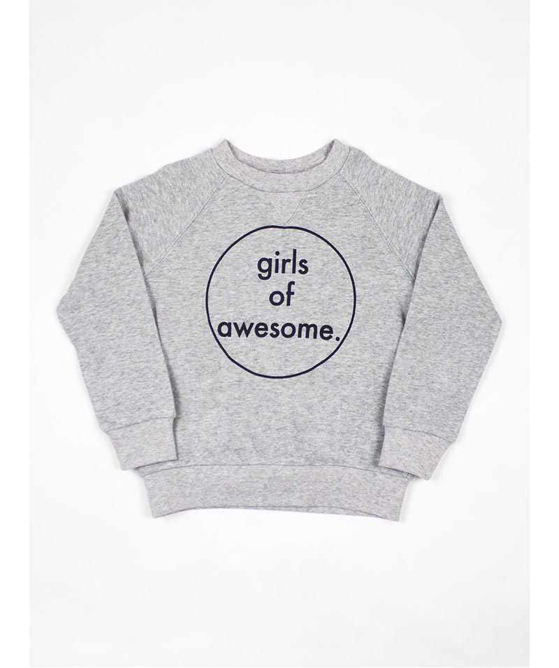 "Tiny Tribe ""Girls Of Awesome"" Sweater"