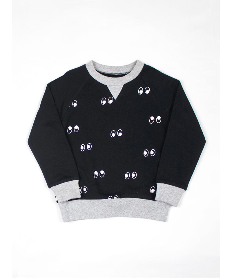 Ghost Eyes Sweater Black