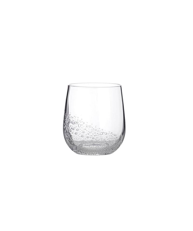 Clear Bubble Tumblers – Set Of 4