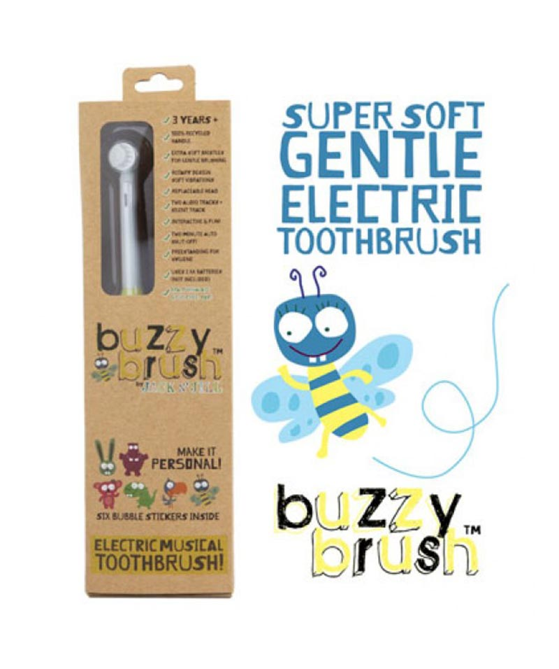 Jack N' Jill Buzzy Brush Electric Musical Toothbrush