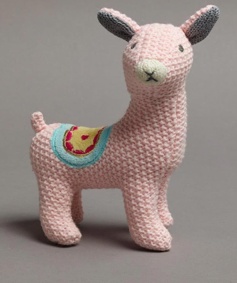 Lucy Llama Rattle