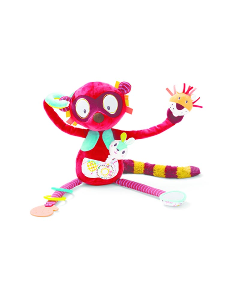Georges Cuddly Activity Lemur