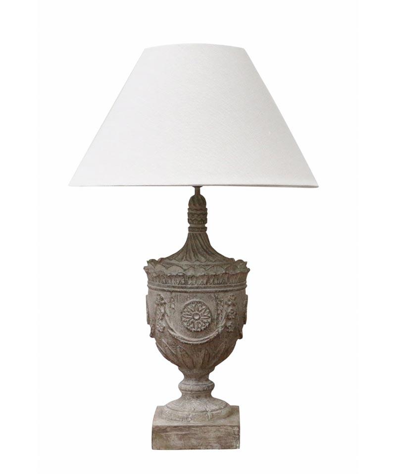 Athena Urn Lamp Base