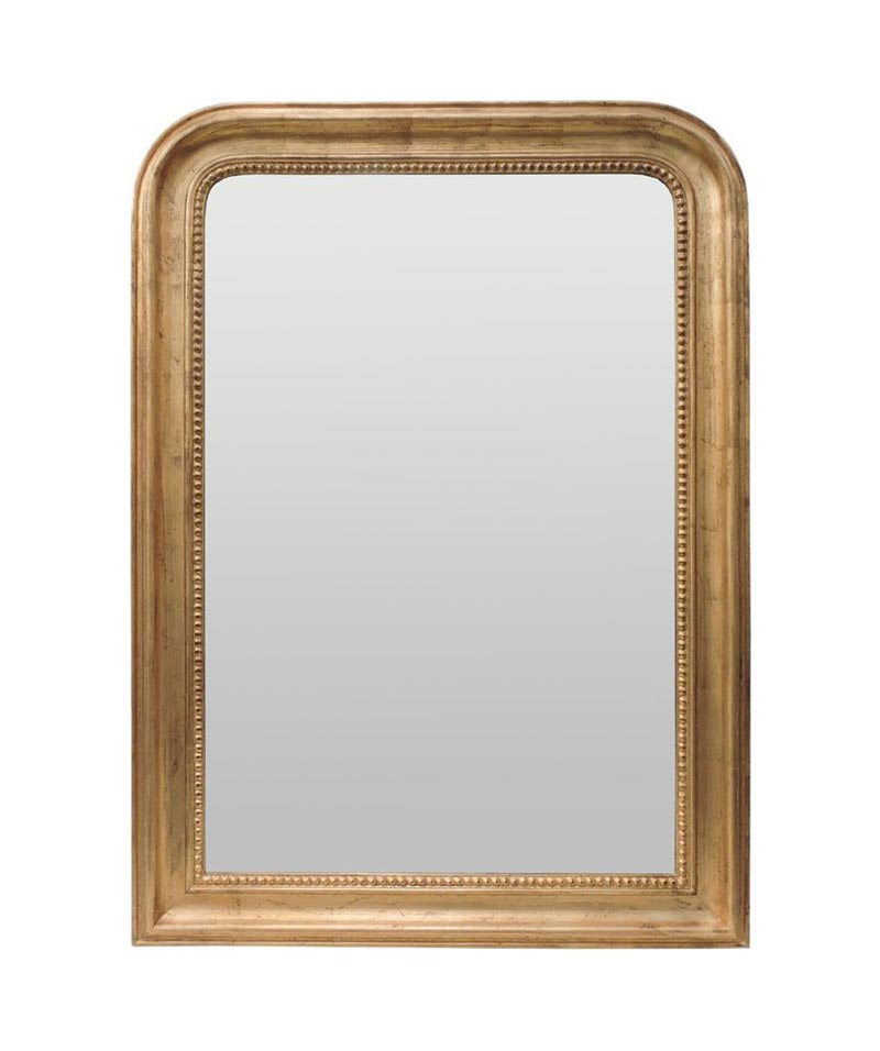Marcelo Rectangle Mirror Country Gold