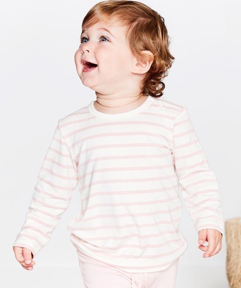 Baby Stripe Long Sleeve Top