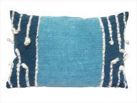 Finn Floor Cushion - Washed Blue