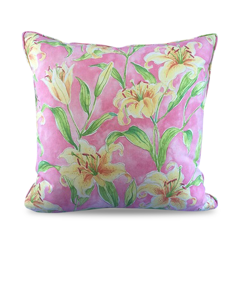 Cover Pillow Seaside Lily Petunia