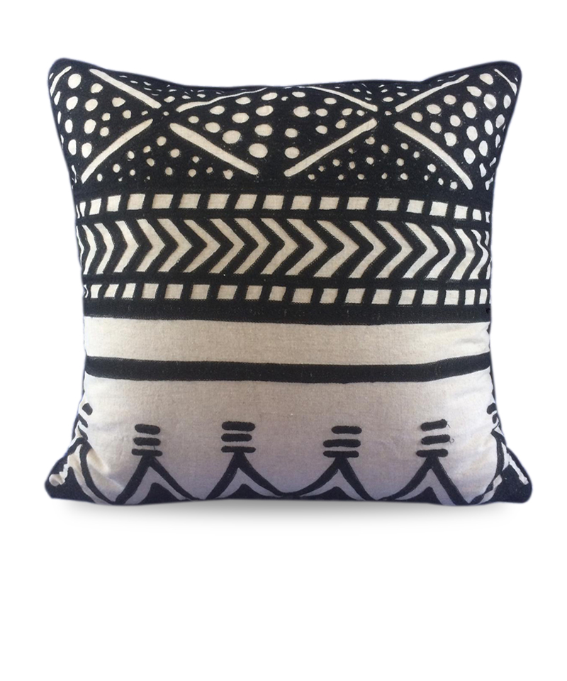 Cover Pillow Shakti Black