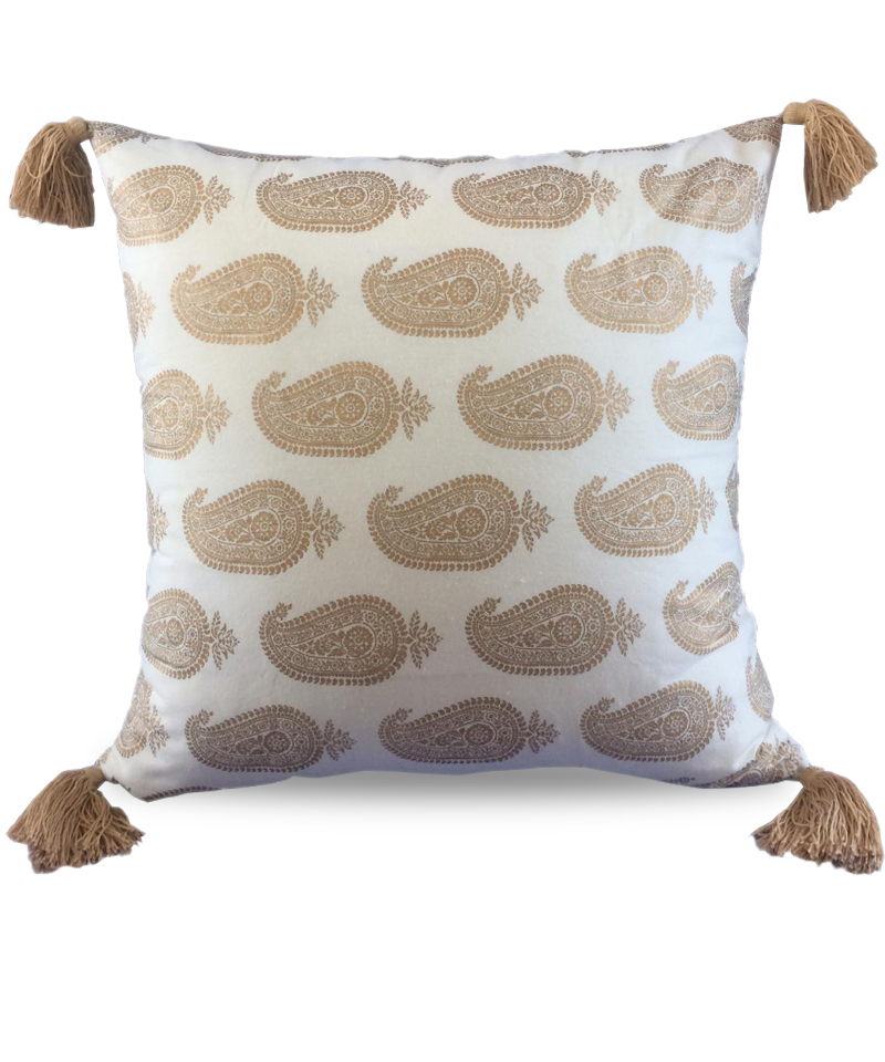 Cover Pillow Orissa White