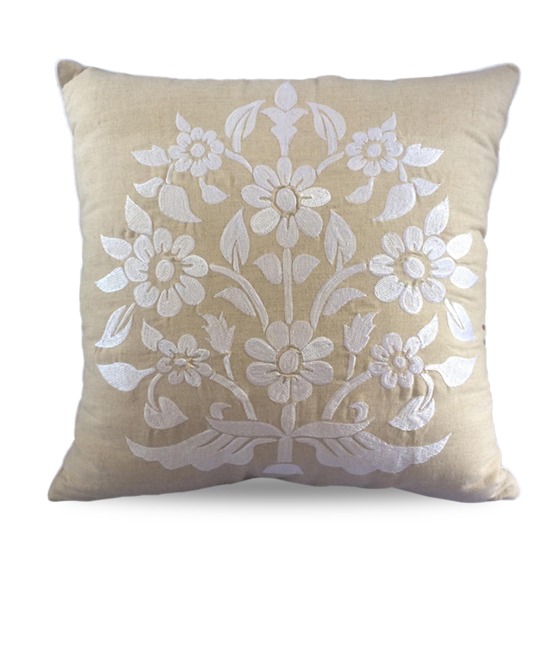 Cover Pillow Shanti White