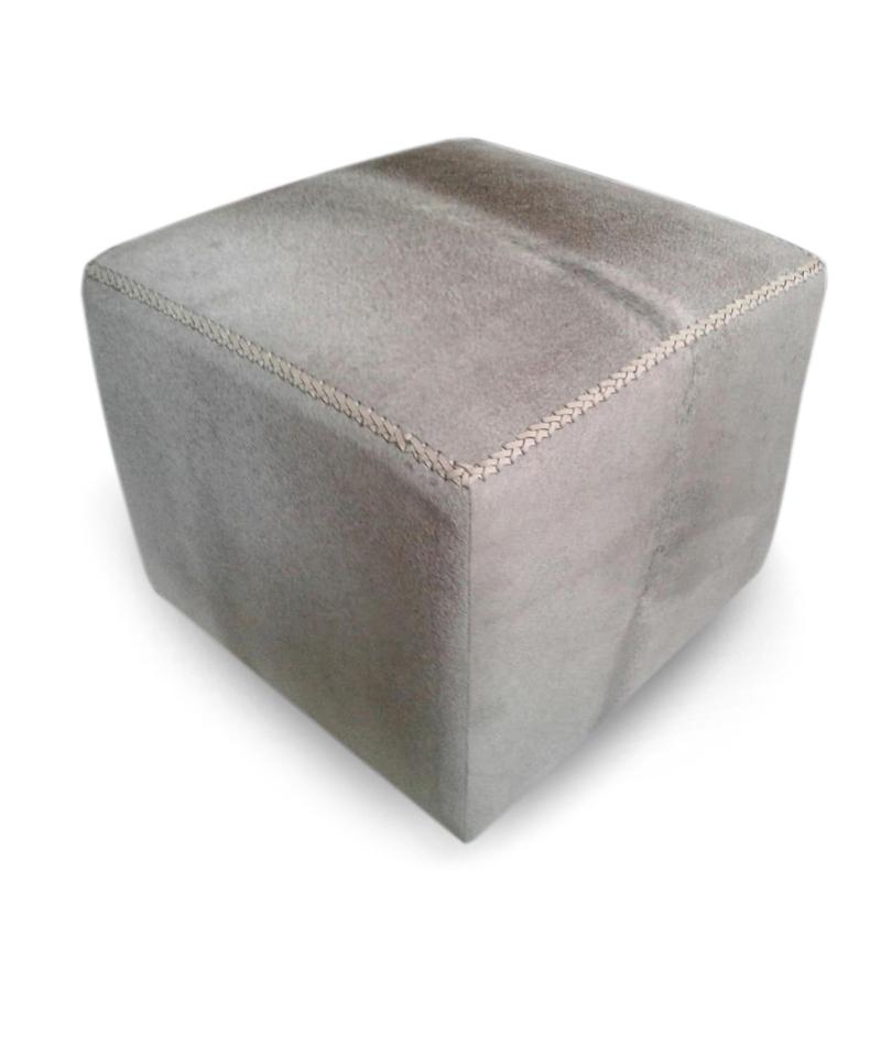 POF Square Grey Cowhide