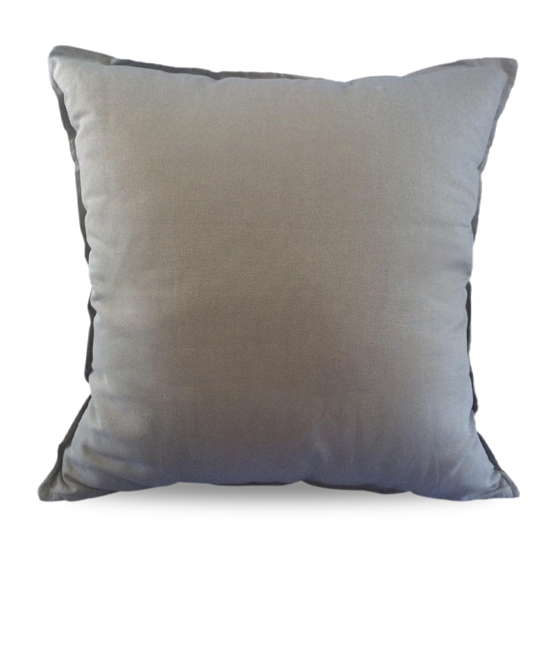 Cover Pillow 50x50cm – Grey Plain Oxford Indonesian Hardware