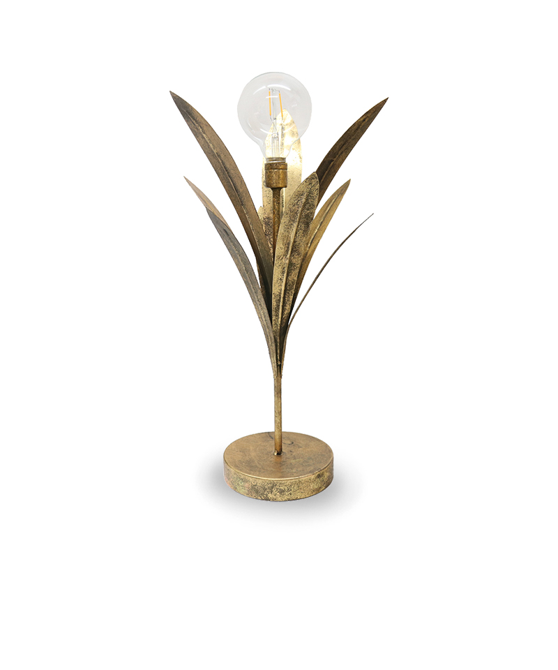 Flax Leaf LED Lamp 53cm